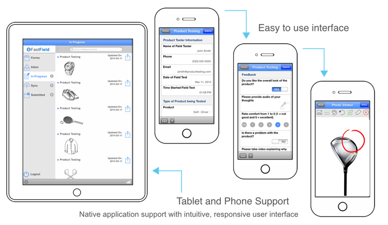 Native Mobile Forms   Business Mobile Forms   Data Collection